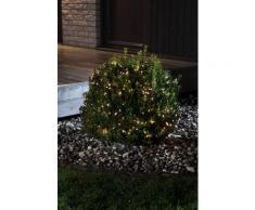 KONSTSMIDE LED Büschelllichterkette Cluster mit Multifunktion schwarz Lichterketten und Lichtschlauch Dekoleuchten Lampen Leuchten Saisonartikel Weihnachten
