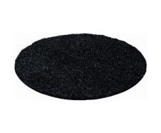 Ayyildiz Hochflor-Teppich Life Shaggy 1500, rund, 30 mm Höhe, Wohnzimmer grau Schlafzimmerteppiche Teppiche nach Räumen