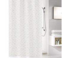 Kleine Wolke Duschvorhang Style, Breite 180 cm, Höhe 200 cm grau Badaccessoires SOFORT LIEFERBARE Wohnaccessoires