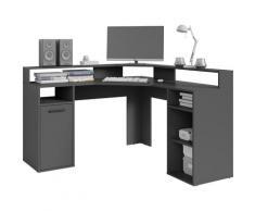 byLIVING Gamingtisch Fox, Breite 139 cm grau Kinder Gaming-Tisch Kinderschreibtische Bürotische und Schreibtische Büromöbel
