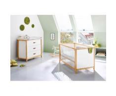 Pinolino Babyzimmer-Set (2-tlg.), Sparset, »Calimero, breit«, weiß, Neutral, weiß