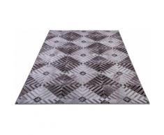 Teppich, Serena GF050, Gino Falcone, rechteckig, Höhe 3 mm, gedruckt beige Moderne Teppiche