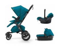 Concord Kinderwagen inkl. Babyschale, »Neo Travelset, Scuba Green«, grün, Unisex, scuba green