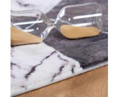 Obsession Teppich Palazzo 274, rechteckig, 10 mm Höhe, Marmor-Optik, Wohnzimmer grau Schlafzimmerteppiche Teppiche nach Räumen