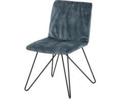 Villeroy & Boch Polsterstuhl MATEO blau 4-Fuß-Stühle Stühle Sitzbänke
