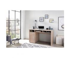 Wilmes Schreibtisch MULTI, mit 1 Tür, Schublade, 3 Fächer beige Schreibtische Bürotische und Büromöbel
