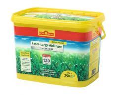 WOLF-Garten Rasendünger Premium LE 250, 5 kg, mit Langzeitwirkung gelb Zubehör Pflanzen Garten Balkon
