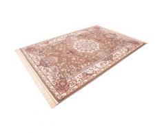 Böing Carpet Läufer Classic 4051, rechteckig, 10 mm Höhe, Teppich-Läufer, gewebt, Orient-Optik, mit Fransen braun Teppichläufer Teppiche und Diele Flur