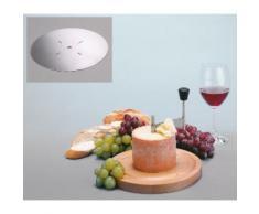 GSD HAUSHALTSGERÄTE Käsehobel, für Tete de Moine Käse braun Käsehobel Reiben Hobel Kochen Backen Haushaltswaren