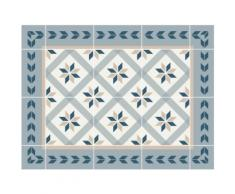 Contento Platzset Matteo, Fliesen, blau, (Set, 4 St.), für innen und außen geeignet, wasserabweisend blau Tischdecken Tischwäsche