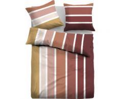TOM TAILOR Bettwäsche Marcel, mit tollen Streifen rot Herbstbettwäsche Bettwäsche, Bettlaken und Betttücher