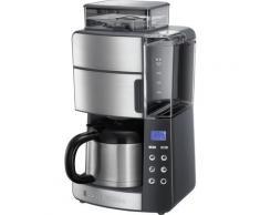 RUSSELL HOBBS Kaffeemaschine mit Mahlwerk 25620-56, Papierfilter, 1x4, Thermokanne silberfarben Kaffee Espresso SOFORT LIEFERBARE Haushaltsgeräte