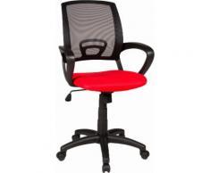 Duo Collection Stuhl Tom rot Kinder Kinderstühle Jugendstühle Bürostühle Büromöbel Stühle