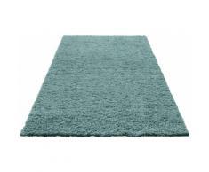 Bruno Banani Hochflor-Teppich Shaggy Soft, rechteckig, 30 mm Höhe, gewebt, Wohnzimmer blau Schlafzimmerteppiche Teppiche nach Räumen