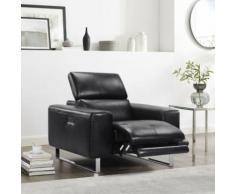 Sessel, mit elektrischer Relaxfunktion und manueller Kopfteilverstellung schwarz Relaxsessel Sessel