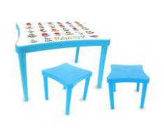 Jamara Kindersitzgruppe Easy Learning, blau, (3 tlg.) blau Kinder Kinderstühle Kindermöbel Baby-, Kinder- Jugendzimmer