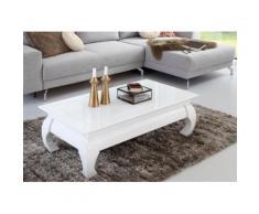 Homexperts Couchtisch weiß Opiumtische Couchtische Tische Tisch