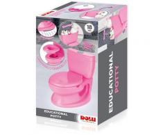 BabyGo Toilettentrainer Baby Potty, pink, pädagogoisches Töpfchen rosa Baby-Toilette Körperpflege Gesundheit