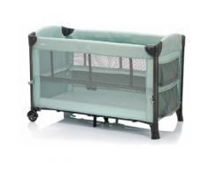 Fillikid Baby-Reisebett Faltbett, mint, inkl. Transporttasche blau Baby Reisebetten Babybetten Babymöbel