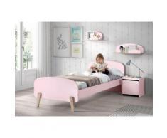 Vipack Kinderbett Kiddy rosa Kinder Kinderbetten Kindermöbel Betten