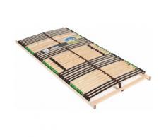 Lattenrost, Fair Life Bio 42 KF, Bio, Kopfteil manuell verstellbar mehrfarbig Federholzrahmen Lattenroste Matratzen und Lattenrost