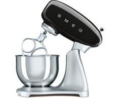 Smeg Küchenmaschine SMF02BLEU, 800 Watt, Schüssel 4,8 Liter schwarz Multifunktionsküchenmaschinen Küchenmaschinen Haushaltsgeräte ohne Kochfunktion