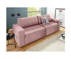 DOMO collection Big-Sofa rosa Big Sofas XXL Couches