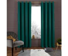Verdunkelungsvorhang Sola my home Kräuselband 1 Stück, grün, dunkelgrün