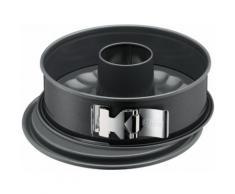 Kaiser Backformen Springform La Forme Plus, Ø 26cm rund mit 2 Böden grau Backbleche Kochen Backen Haushaltswaren