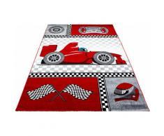 Kinderteppich, Kids 460, Ayyildiz, rechteckig, Höhe 12 mm, maschinell gewebt rot Kinder Bunte Kinderteppiche Teppiche