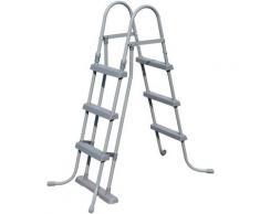 KONIFERA Rundpool MALAGA III (Set) weiß Swimmingpools Pools Planschbecken Garten Balkon