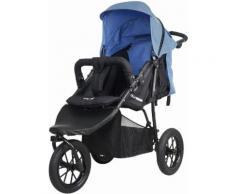 knorr-baby Jogger-Kinderwagen, »Joggy Novo Active, schwarz-jeans«, blau, Unisex, schwarz-jeans