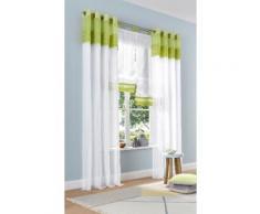 Home affaire Raffrollo Gander, mit Schlaufen grün Wohnzimmergardinen Gardinen nach Räumen Vorhänge