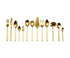 "Guido Maria Kretschmer Home&Living Besteck-Set ""Golden Look"", goldfarben, goldfarben"