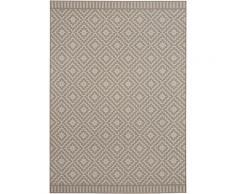 Teppich, Breeze, freundin Home Collection, rechteckig, Höhe 8 mm, maschinell gewebt braun Moderne Teppiche Unisex