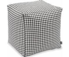 H.O.C.K. Hocker Pictave (1 Stück) schwarz Sitzkissen Sitzwürfel