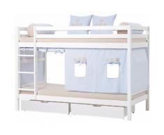 Hoppekids Etagenbett Fairytale Knight blau Kinder Kindermöbel Nachhaltige Möbel