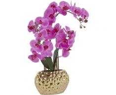 Leonique Kunstpflanze Orchidee lila Künstliche Zimmerpflanzen Kunstpflanzen Wohnaccessoires