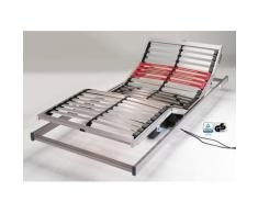 Schlaraffia Lattenrost mit Motor Classic 28, (1 St.), sehr flaches Design weiß für Übergewichtige Lattenroste