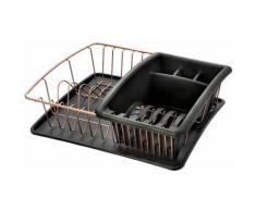 Metaltex Geschirrständer Aquatex Plus grau Abtropfgestelle Küchenhelfer Haushaltswaren