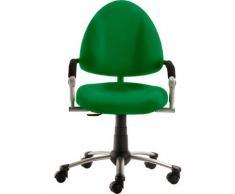 Mayer Sitzmöbel Drehstuhl Kinder- und Jugenddrehstuhl myFREAKY, mitwachsend grün Drehstühle Bürostühle Stühle Sitzbänke