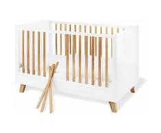 Pinolino Babybett, Pan weiß Baby Gitterbetten Babybetten Babymöbel