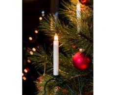KONSTSMIDE Baumkette, Topbirnen, One String weiß Lichterketten und Lichtschlauch Dekoleuchten Lampen Leuchten Saisonartikel Weihnachten