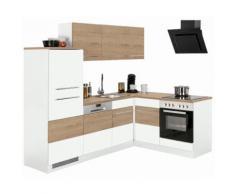 HELD MÖBEL Winkelküche Trient, ohne E-Geräte, Stellbreite 230 x 170 cm weiß L-Küchen Küchenzeilen -blöcke Küchenmöbel Arbeitsmöbel-Sets