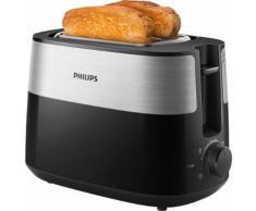 Philips Toaster Daily Collection HD2516/90, 2 kurze Schlitze, 830 W schwarz SOFORT LIEFERBARE Haushaltsgeräte