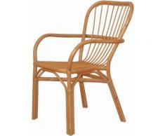 Home affaire Rattanstuhl beige 4-Fuß-Stühle Stühle Sitzbänke
