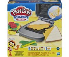 Hasbro Knete Play-Doh, Sandwichmaker bunt Kinder Kneten Modellieren Basteln, Malen, Kosmetik Schmuck