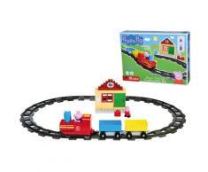 BIG Spielbausteine BIG-Bloxx Peppa Pig Train Fun, (46 St.), Made in Europe bunt Kinder Bausteine Bausätze Bauen Konstruieren