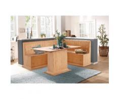 Home affaire Eckbankgruppe Sara bestehend aus Eckbank und Tisch in 2 Größen, natur, natur geölt