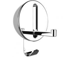 WENKO Klapphaken Premium Delta, ideal für Küche, Bad, WC, Garderobe & gesamten Haushalt, rund weiß Garderobenhaken Garderoben